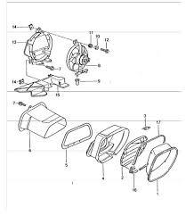 buy porsche boxster 986 987 981 air cooling parts design 911 ventilation engine compartment 986 boxster 1997 04