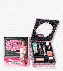 beauty knockouts full face makeup kit benefit cosmetics benefit porefessional face primer new beauty eyeshadow application spray png