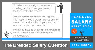 job offer salary how to negotiate salary your salary negotiation guide 2018 update