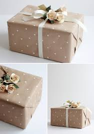 diy how to make polka dot wrapping paper