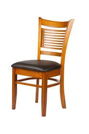 oak restaurant dining chair for