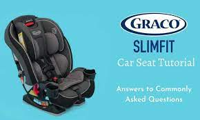 graco slimfit car seat tutorial