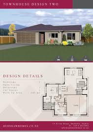 Townhouse Designs Nz Home Designs Redshaw Homes