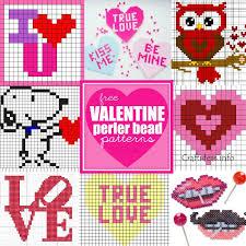 Bead Patterns Magnificent Valentine Perler Bead Patterns U Create
