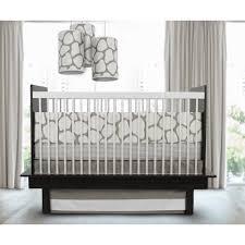 oilo cobblestone taupe piece crib bedding set by oilo  taupe