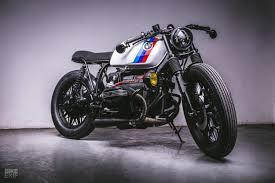 a bmw r100rs built by an f2 race team