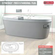 freestanding tub dimensions available only at home depot sizes bathtubs filler d