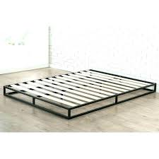 Low Profile Queen Bed Frame Low Profile Bed Frame Queen Low Profile ...