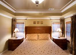 Gallery Of Tray Ceiling Painting Ideas Pictures On With HD - Dining room two tone paint ideas