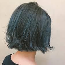 グリーン系のヘアカラーのヘアスタイル9選feelyフィーリー