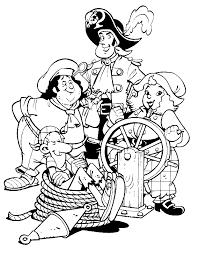 Piet Piraat Kleurplaat Maatjes
