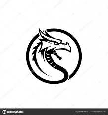 元の龍顔頭 ストックベクター Taawon 160469312