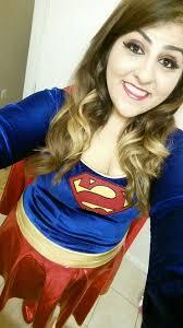 superwoman makeup hair costume costume 2016