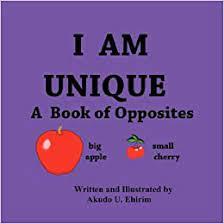 I AM UNIQUE The Book of Opposites: Ehirim, Akudo: 9781424327102:  Amazon.com: Books