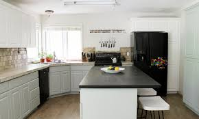 Eggshell Kitchen Cabinets Our Painted Kitchen Cabinets Chris Loves Julia