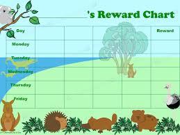 Reward Chart Australian Animals