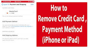 How to remove credit card information from iphone? How To Remove Credit Card Or Payment Method From Iphone Or Ipad Youtube