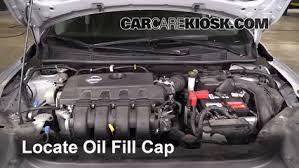 nissan sentra 2013 engine. 3. remove oil cap nissan sentra 2013 engine