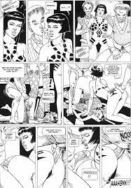 Fantastic adult comic Three Darnum Sisters Sabarra