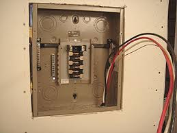 how to install and wire a cutler hammer sub panel diy old house Breaker Box Wiring Diagram Red Black White red, black, and white conductors (wires), plus ground wire, inside Circuit Breaker Box Wiring