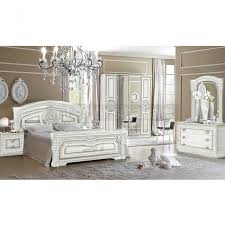 white italian bedroom furniture. Aida - Classic Italian Bed White Bedroom Furniture I