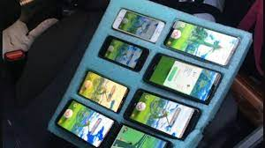 Man caught playing Pokémon GO on 8 different phones because he's really  gotta catch 'em all > NAG
