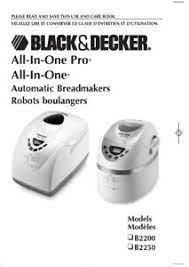 decker automatic breadmaker b2200