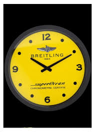 replica breitling superocean wall clock