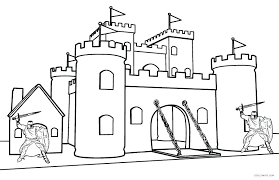 castle coloring book pages coloring free printable disney castle coloring pages