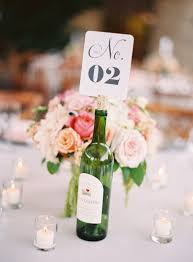 Wedding Table Decorations With Wine Bottles