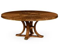 72 inch round dining table. Transitional 72 Inch Round Dining Table With Built In Lazy Susan