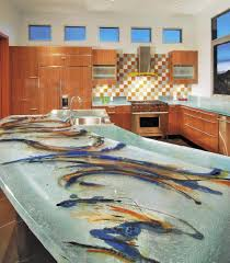 ... Good Unusual Countertops Glass Tops For Cool And Unusual Kitchen  Designs From ThinkGlass ...