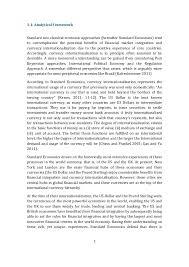 analyzing the integration of ian financial markets 7