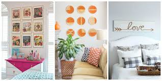 13 easy wall decorating ideas diy easy folded paper wall art mcnettimages com