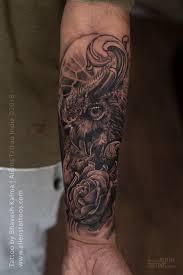 Ornamental Owl Tattoo Aliens Tattoo The Best Tattoo Studio In
