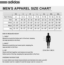 Adidas Men S Size Chart Pants Adidas Soccer Pants Climacool