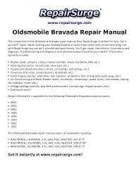 oldsmobile bravada repair manual 1991 2004 repairsurge com oldsmobile bravada repair manual the convenient online oldsmobile bravada repair manual