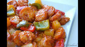 Sweet and Sour Shrimp Recipe - YouTube