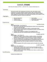 Job Resume Samples 20 8 Simple Examples Legal Resumed With For Jobs ...