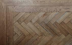 Wood Parquet Design A Herringbone Design Parquet Floor Here Shown With A
