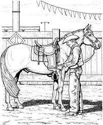 Cowboy Coloring Pages For Kids Printable Coloring Page For Kids