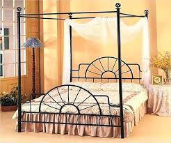 Wrought Iron Canopy Bed King Size Idea Good Design Home Improvement ...