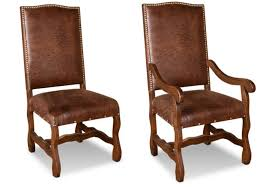 rustic dining room chairs. Bradley S Furniture Etc Utah Rustic Dining Room In Leather Chairs Plan 3