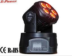 professional dj lighting equipment 5 15w rgbwa led mini moving head wash light pl 12