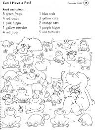 ce6e74f0fd790a716e5aa51e640bb33a zoo worksheets animals worksheets read and colour best on instructions worksheet ks1