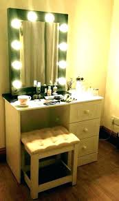 makeup vanity mirror with lights extraordinary lighted vanity mirror lighting