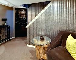 corrugated metal wall corrugated wall metal wall covering ideas new ideas basement wall covering ideas corrugated