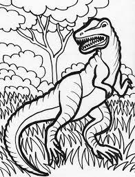 Small Picture Hideous T Rex Coloring Page Color Luna