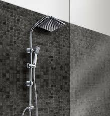 Duschgarnitur Regendusche Duschstange Handbrause Duscharmatur Duschset