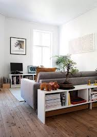 space behind couch for extra storage